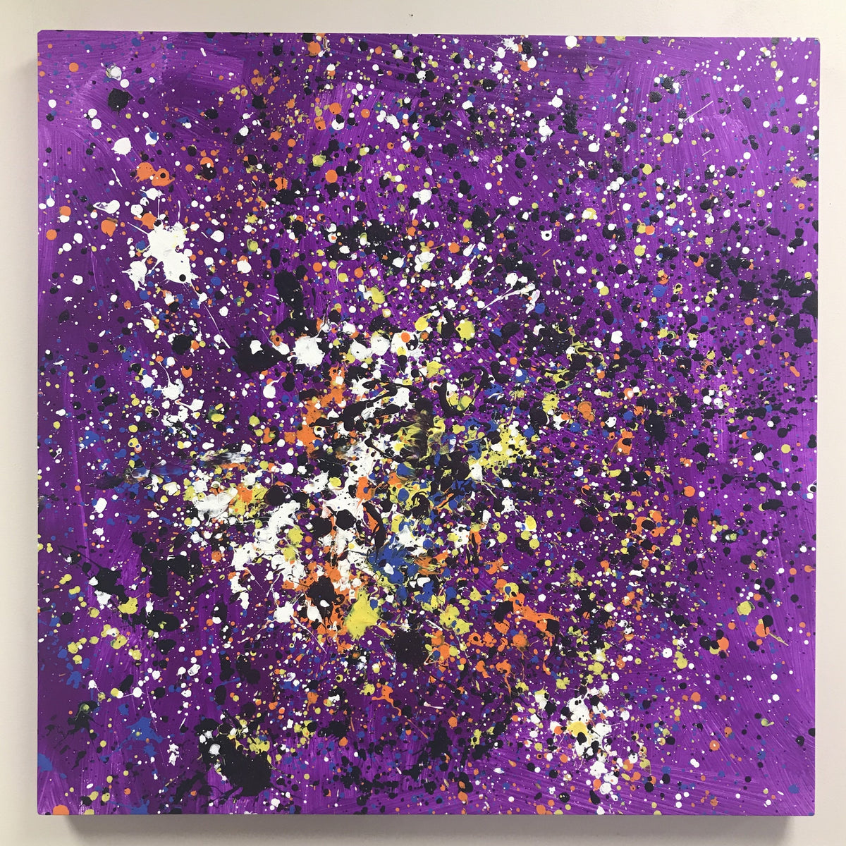 Anxiety & Stress Reduction for Pre-teens and Teens (ages 11-15): Splatter painting