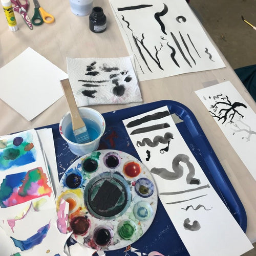 Art from Around the World camp (age 6-14) July 5-9
