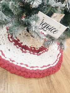 Chunky Knit Tree Skirt Workshop