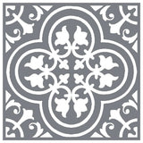 Traditional Floor Tile Stencil
