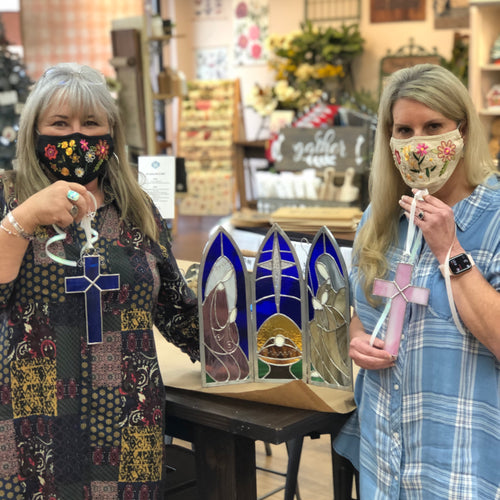 Mini-Stained Glass Workshop with Sherry