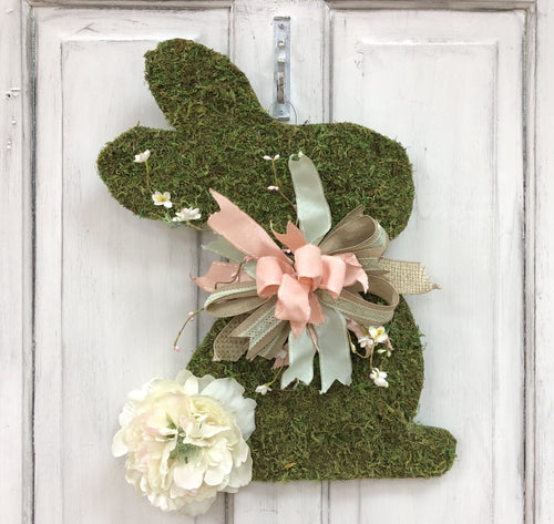 Moss Bunny Door Hanger Workshop
