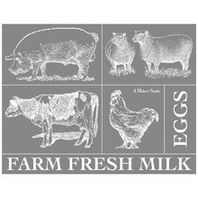 Load image into Gallery viewer, Farm Animals Mesh Stencil