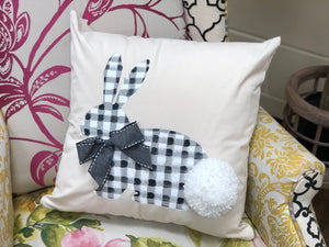 Gingham Bunny Pillow Workshop