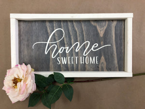 Home Sweet Home Sign (MH13)