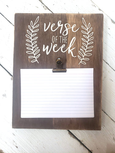 Verse of the Week DIY Project Kit