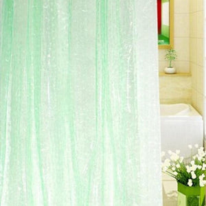 Shower Curtain EVA Translucent 3D Thickened 1.8/2M Shower Curtains Bathroom Curtain Moldproof Waterproof Bathroom Curtain