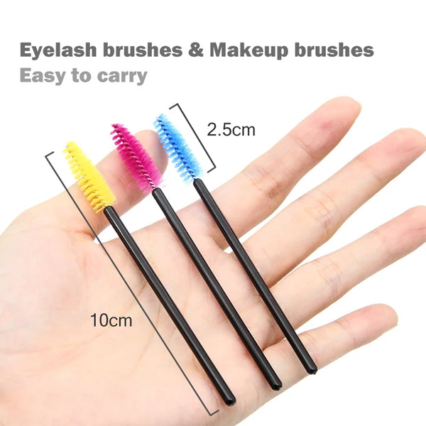 Eyelashes Eyebrows Brush 50psc