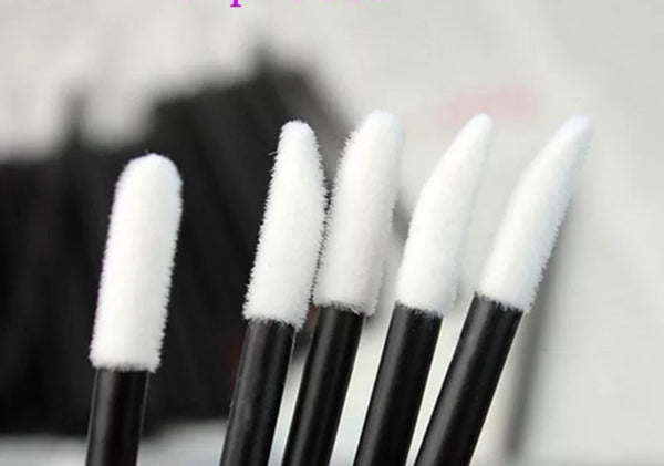 50 psc Eyelash extensions cleansing brushes/applicators