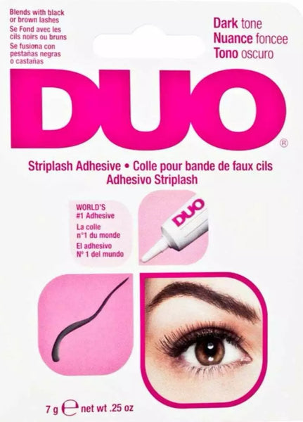 DUO Eyelash Glue Adhesive Strong Dark Waterproof False Eyelashes 7g