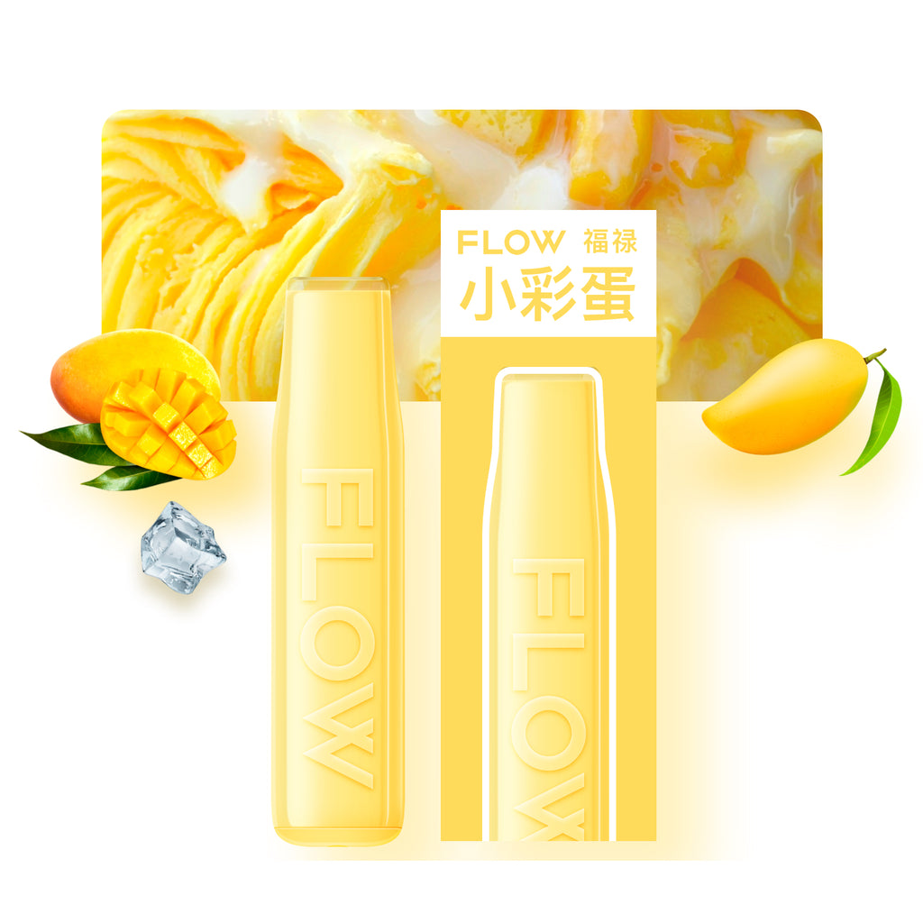 FLOW mini - Mango Smoothie (2% Nicotine) / Party Vape