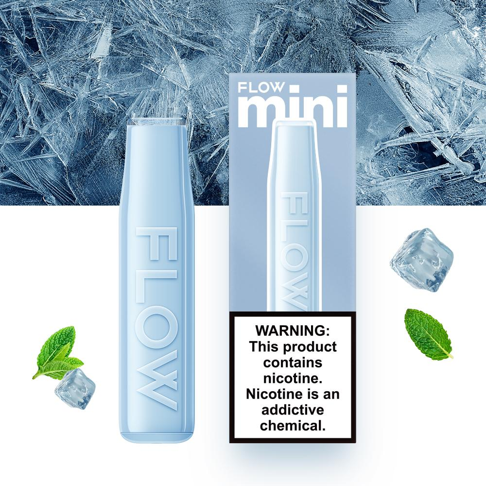 FLOW mini - Menthol Blizzard Flavor E-Cig (3% Nicotine) / Party Vape