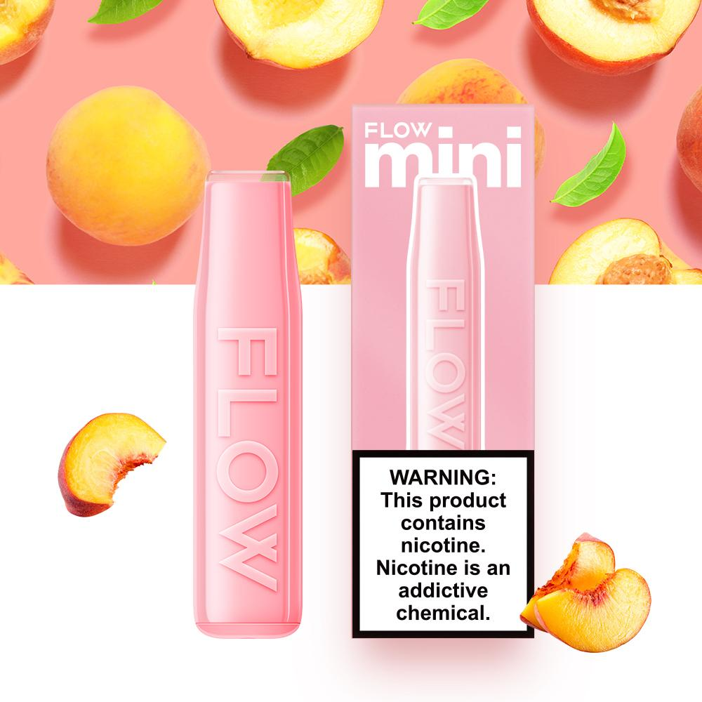FLOW mini - Peach Oolong Flavor E-Cig (3% Nicotine) / Party Vape