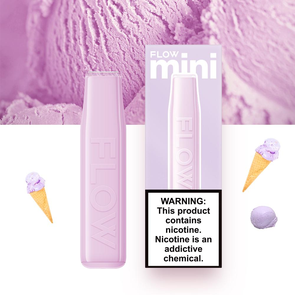 FLOW mini - Taro Ice Cream Flavor E-Cig (3% Nicotine) / Party Vape