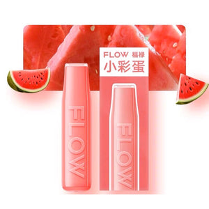 FLOW mini - Watermelon Flavor E-Cig (NICOTINE FREE) / Party Vape