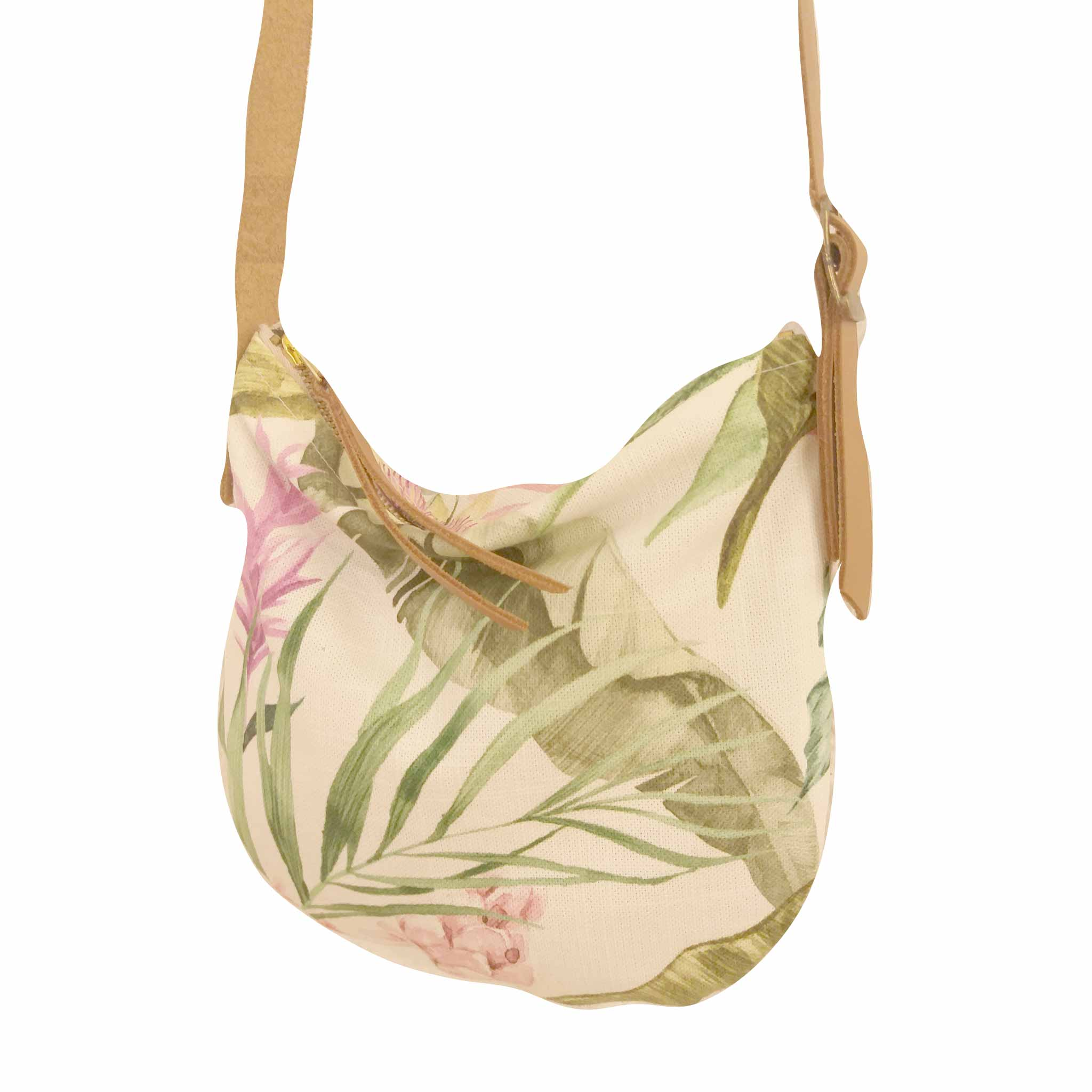 Fabric Sling Bag - Sangria