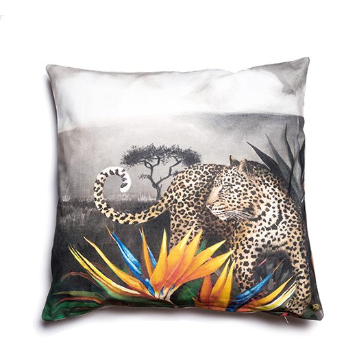 Wildlife Cushion Cover - Leopard