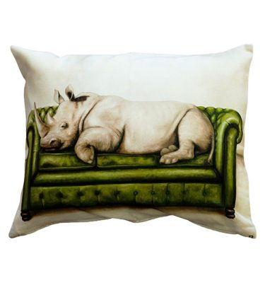 Cushion Cover - Rhino