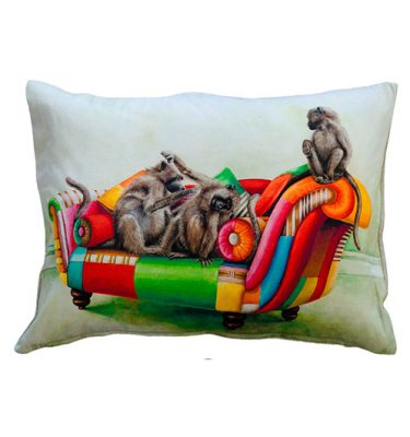 Cushion Cover - Baboon