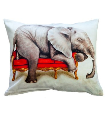 Cushion Cover - Elephant