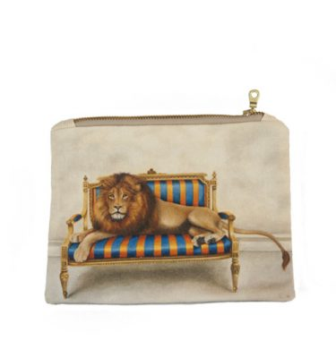 Small Canvas bag - Lion