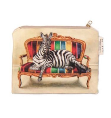Small Canvas bag - Zebra