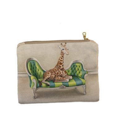 Small Canvas bag - Giraffe