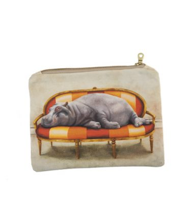 Small Canvas bag - Hippo