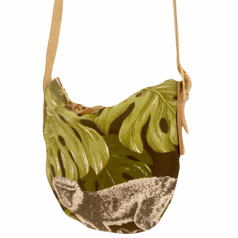 Fabric Sling Bag - Monkey