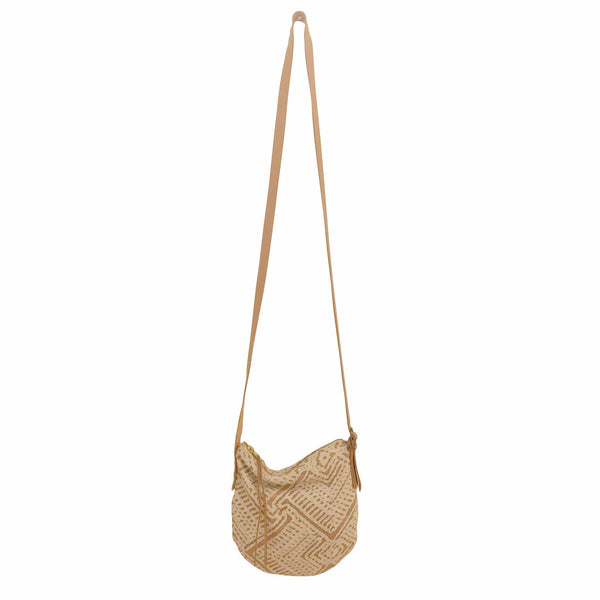 Fabric Sling Bag - Copper Line Design