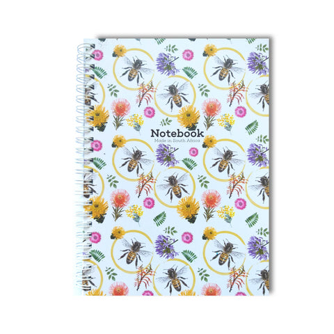 Honey Bee - Spiral Notebook