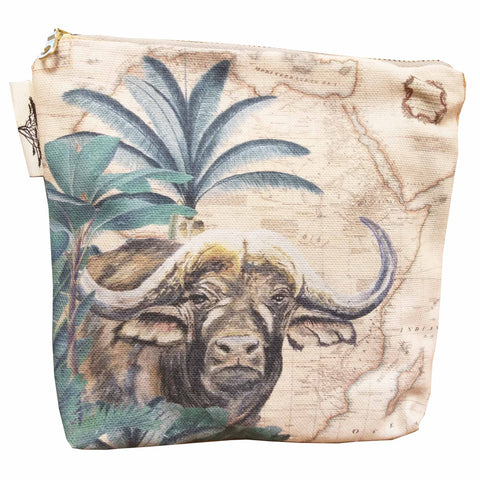 Safari Collection - Small canvas bag - Buffalo