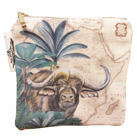 Coin Purse - Safari Collection - Buffalo