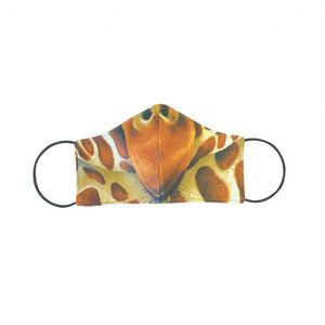 Face Mask - Cupped - Giraffe