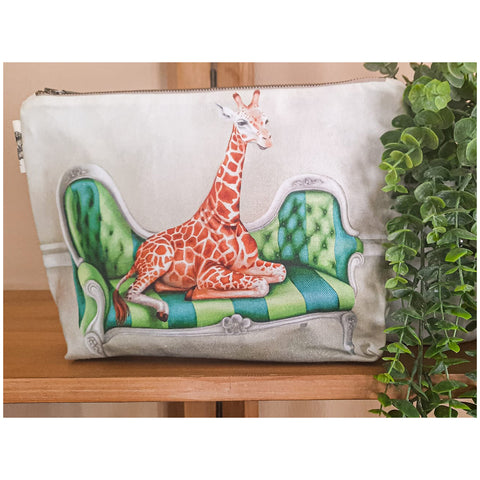Toiletry Bag - Giraffe