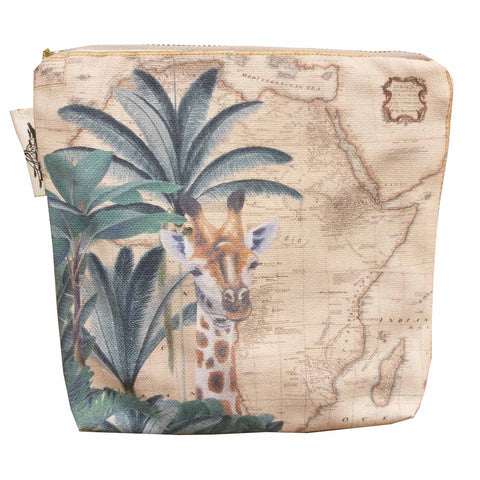 Safari Collection - Small canvas bag - Giraffe