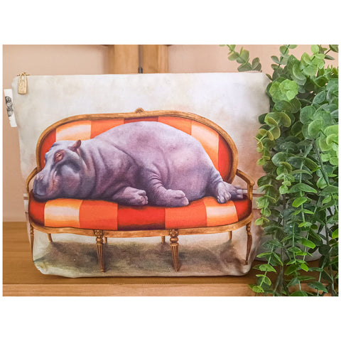 Toiletry Bag - Hippo
