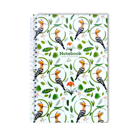 Hoopoe - Spiral Notebook