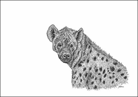 Hyena Limited Edition Print
