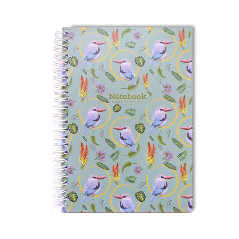 Mangrove Kingfisher - Spiral Notebook