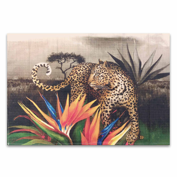 Tea Towel - Leopard Spirit
