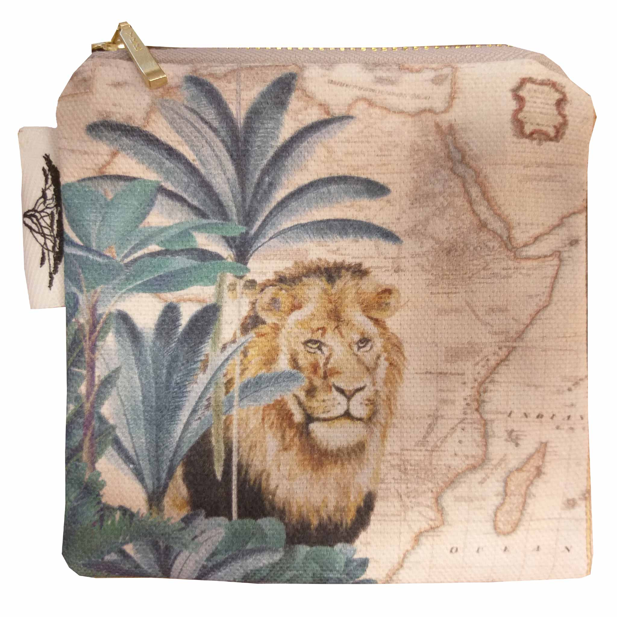 Coin Purse - Safari Collection - Lion