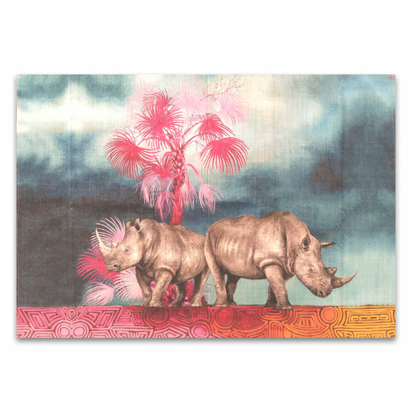 Tea Towel - Rhino Spirit