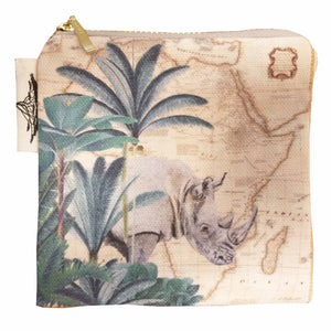 Coin Purse - Safari Collection - Rhino