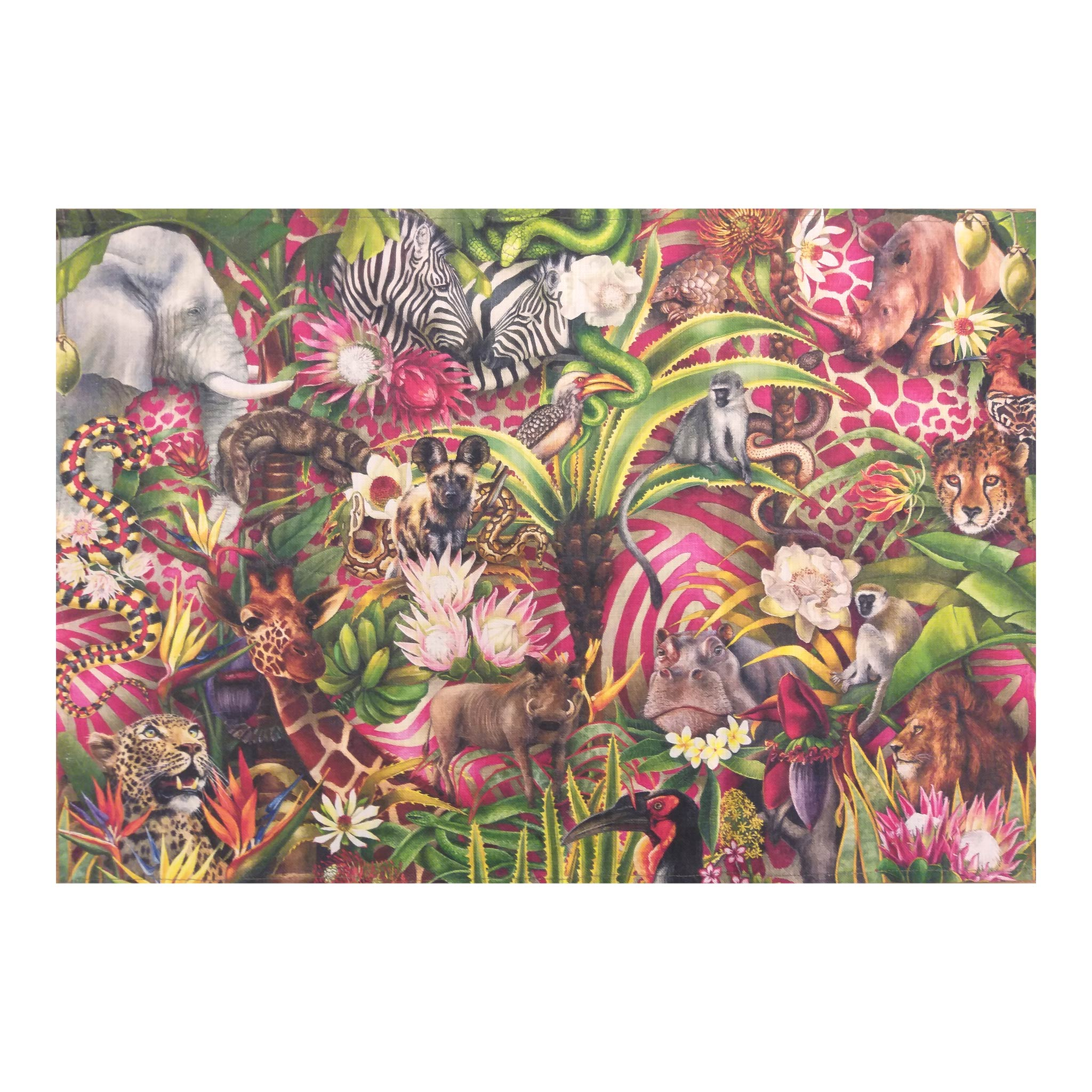 Tea Towel - African Jungle