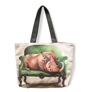 Large Canvas Bag - Warthog