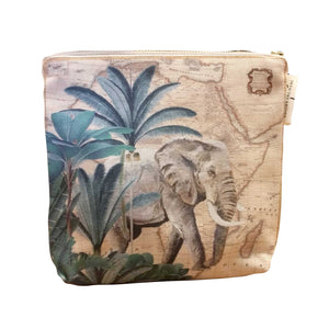 Safari Collection - Small Canvas Bag - Elephant