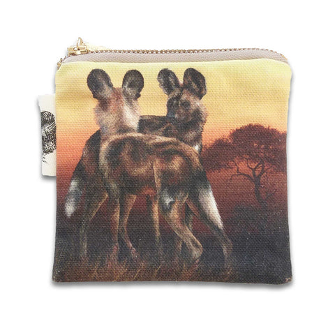 Coin Purse - African Wild Dog