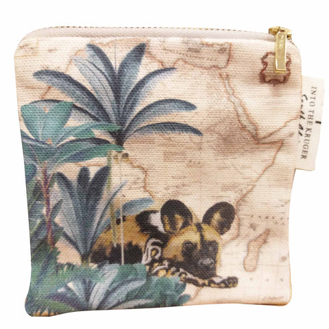 Coin Purse - Safari Collection - Wild Dog