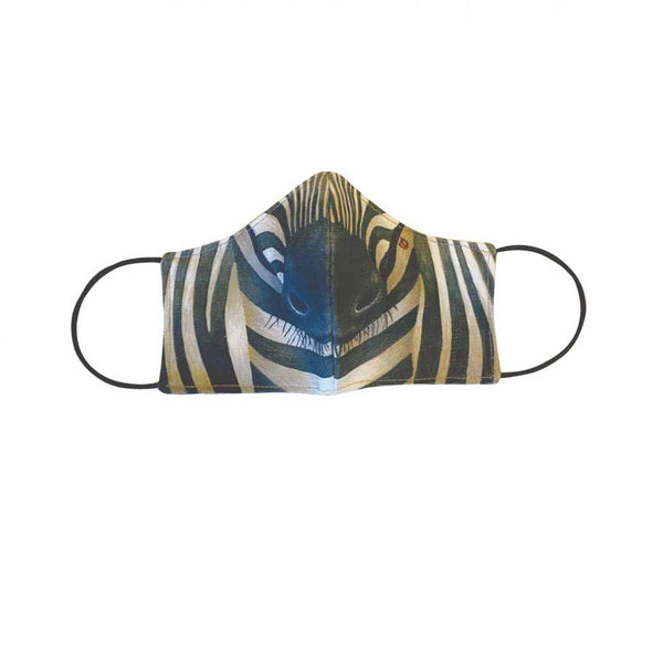 Face Mask - Cupped - Zebra